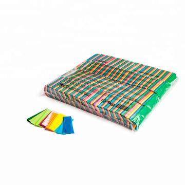 Papier de soie de rectangle de 55 * 17 millimètres utilisé pour la boîte de nuit de concert et la partie folle