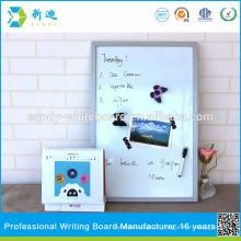 Silberfarbener rahmen kleine magnetische standard whiteboards