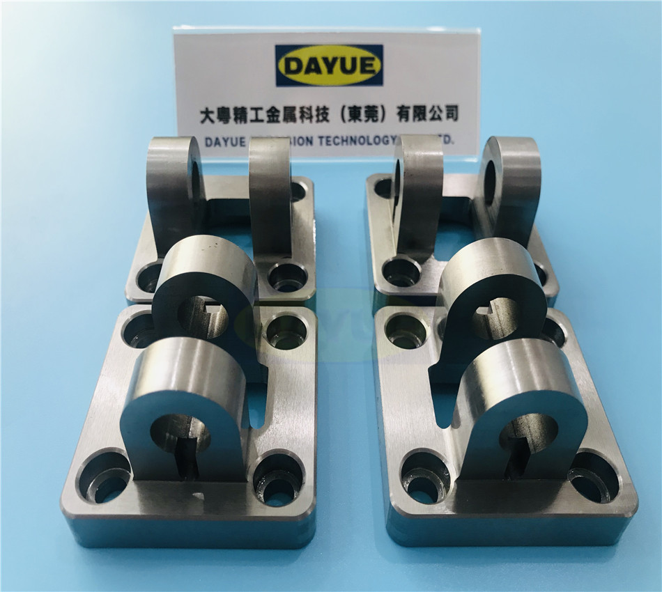 Stainless steel cnc milling part
