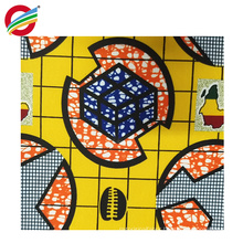Tear-Resistant pure polyester african wax print fabric wholesale