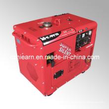 5kw Air-Cooled Super Silent Gasoline Generator Set (GG6500S)