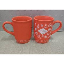 Regalo de la Navidad, taza de la Navidad, taza