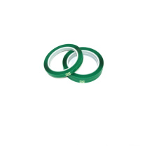 Green strapping tape for strapping  the battery core of pouch cylinder cell as lithium battery production material