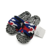 Cotton slippers in fashion Soft thermal slippers Versatile slippers for both men and women