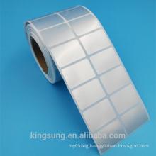 Best-selling blank matt sliver vinyl sticker