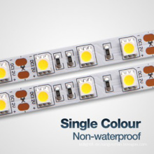 High Lumen Wasserdicht IP68 5050 LED Flexible Streifen Licht, 5 Meter LED Flexible Streifen