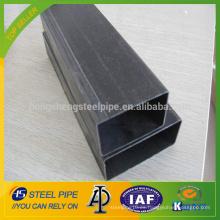 Tubo cuadrado de acero al carbono soldado