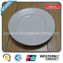 6 '' Flat Plate (stripeedge) en stock à vendre