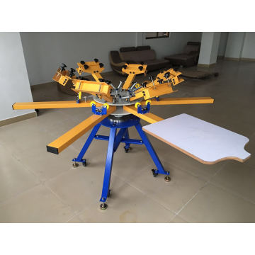 468 T-Shirt Carousel Screen Printing Machine Price