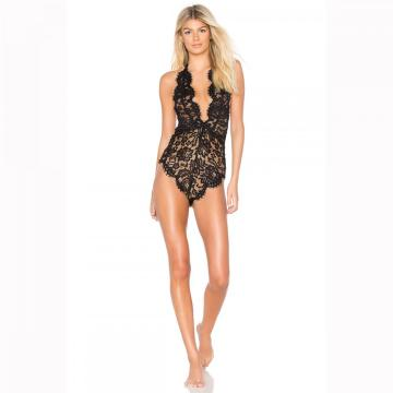 benutzerdefinierte Riemchen Bodysuit Oem Private Label sexy Dessous