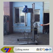 Hydraulic Lift High Speed Dispersing Mixer Mulsion Motor