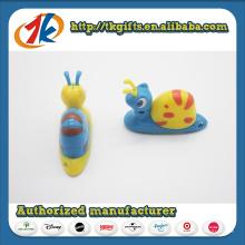 Brinquedos de plástico de alta qualidade animais brinquedo caracol
