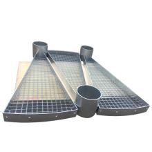Galvanized MS / GI Steel Spiral Stair Tread Steel Grating at Best Factory Price