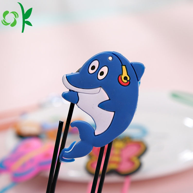 Silicone Cartoon Bookmark