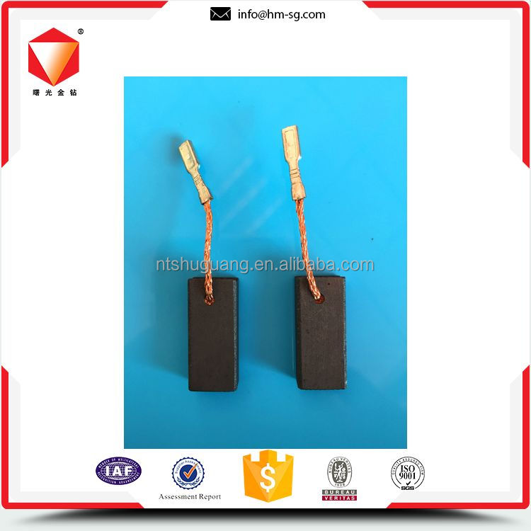 Best selling economic spare parts power tools carbon brush
