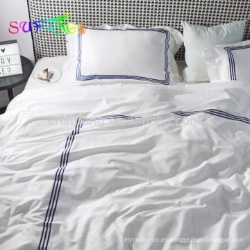 Juego de cama de algodón 800TC / satén de algodón egipcio 10%