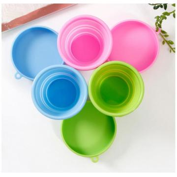Candy Color Silicone Folding Cup Untuk Minum Saat Traveling