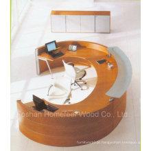 Mesa de recepção Rchalf Round / Curved Unique Design (LT-E408)