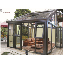 Настроенный стиль Высококачественный закаленный стеклянный алюминиевый сборный солярий