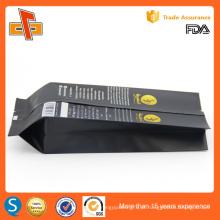 FDA aprovou personalizado impressão lateral gusset papel de alumínio café saco atacado 250g