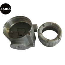 Precisión del cuerpo de la válvula de flujo de acero, inversión, fundición de cera perdida