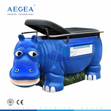 Mesa médica de la plataforma de examen del departamento pediátrico del hospital del diseño del hipopótata de AG-ECC30 para la venta