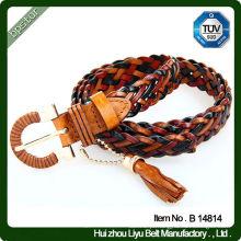 Brincos de corda trançada de borlas de moda com bom preço