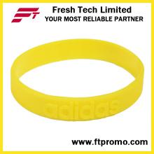 Grossiste bracelet en silicone avec logo écologique