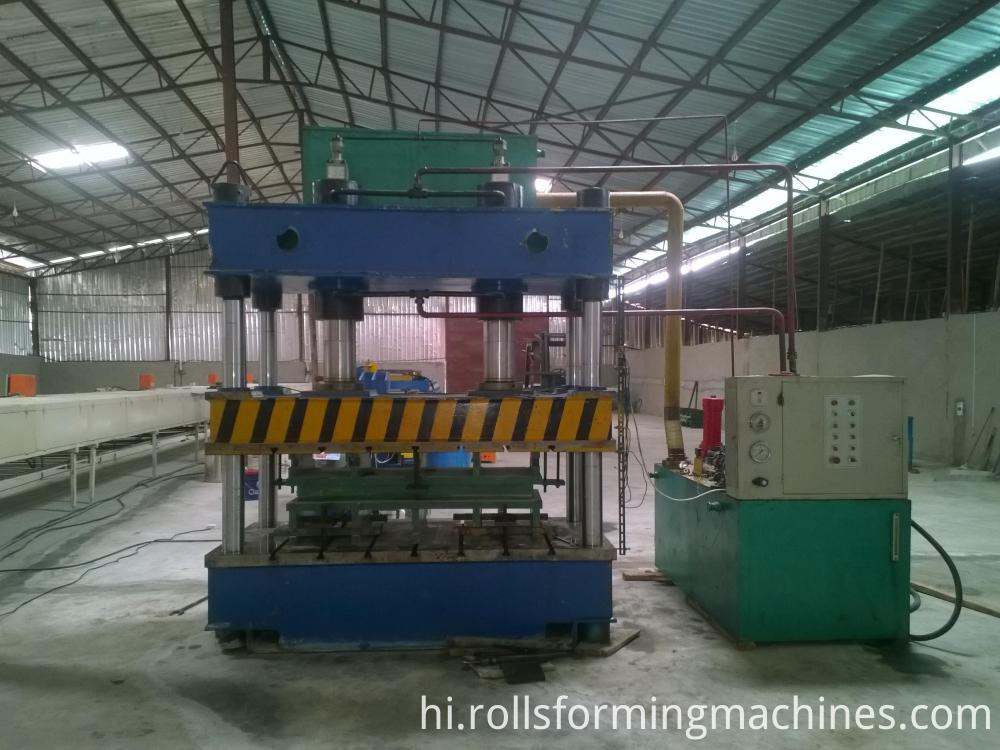 pressure machine for Steel Stone Roofing Tiles Making Machine