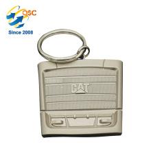 Qualitäts-kundenspezifisches Logo-förderndes Logo-Marken-Gewohnheits-Metall Keychain