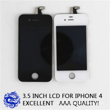 Dihe Mobile Phone Digitizer Assembly LCD Screen for iPhone4