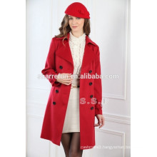 2014-2015 luxury 100% pure cashmere coats for women(450g/sqm)