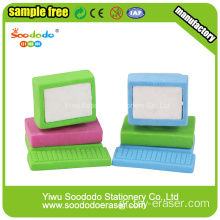 Purple computer erasers ,cool erasers for kids