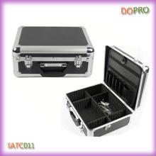 Китай Поставщик алюминиевого портфеля стиль Парикмахерская ящик для инструментов (SATC011)