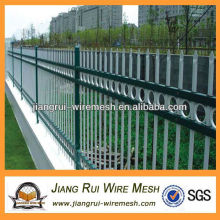 Park and living area boundary zinc steel guardrail (China manufacturer)