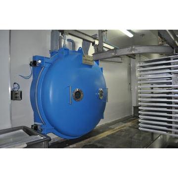 Mikrowelle-Vakuumtrocknung Industriemaschine für Gewürz