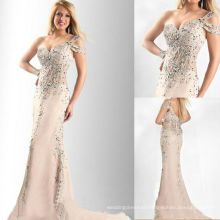 Elegant Sweetheart One Shoulder Beaded Miss USA Pageant Dress for Beauty Pageant TP11-08