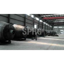 Ligne de production d'équipement de fabrication de réservoir de réservoir / ciment cimenté par ciment