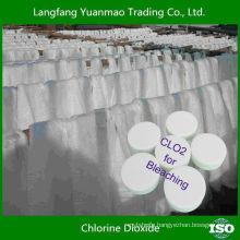 Best Quality Bleacher Chlorine Dioxide Tablet for Textile Bleaching
