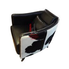 Chaise de salon en cuir