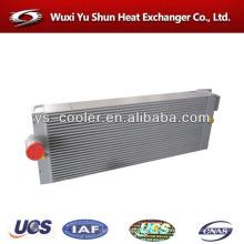 Placa de alto rendimiento y barra aluminio intercambiador de calor de aire a aire