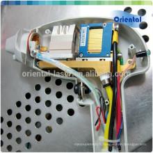 Réparation professionnelle de pièce de poignée de laser de diode avec les barres importées de Gremany