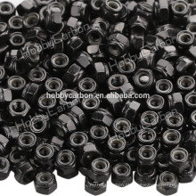 M3 * 5.5 boa qualidade de aço inoxidável Hex Nylon locknut