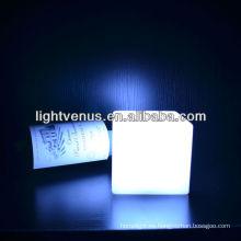 Lámpara de escritorio del humor del cubo de los 10cm con pilas de Manufactuer