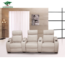 Best Selling Home Thearter Leather Recliner Sofa Chair/Recliners for Home Theatre Home Theater Leather Seats