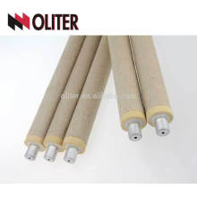 Immersion fast disposable thermocouple for foundry