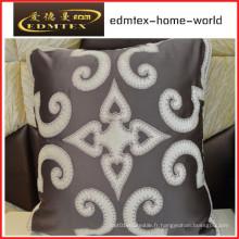 Coussin décoratif en broderie Fashion Velvet Pillow (EDM0304)