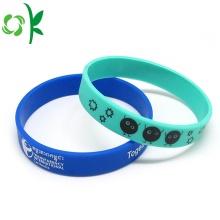 Unique Printed Wristbands Fashion Jewelry Silicone Bracelet