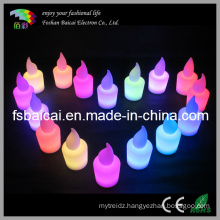 LED Decorative Candle Light Color Change