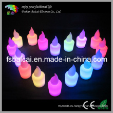 Светодиодные декоративные свечи изменения цвета